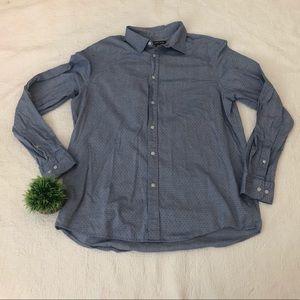 Michael Kors Mens Button Down Shirt